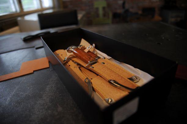 Eteläpohjalainen perinteiseen tapaan valmistettu puukko.