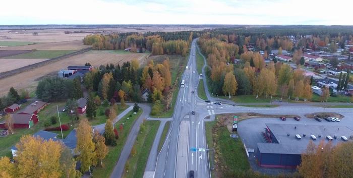 Kantatie 67 liikennettä, Suupohajn rata, Ahonkylä Ilmajoki