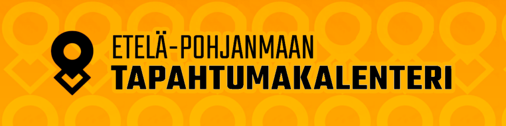 Etelä-Pohjanmaan tapahtumakalenteriin johtava banneri
