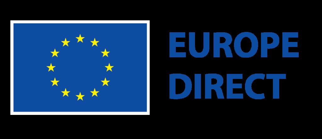 EuropeDirect -tiedotuspisteiden logo.