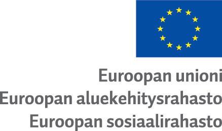 Euroopan aluekehitysrahasto ja Euroopan sosiaalirahasto 2014-2020 -logo.