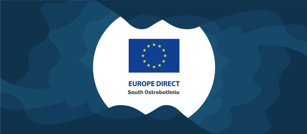 Banneri, jossa keskellä EU-tietokeskuksen logo
