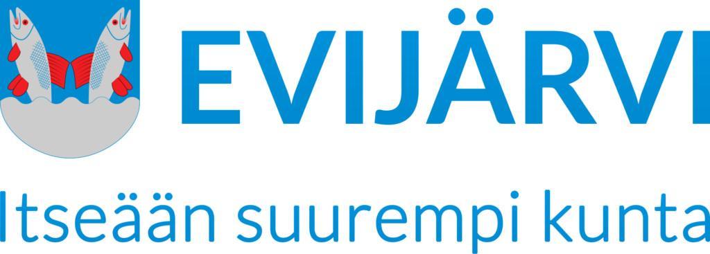 Eväjärvi - itseään suurempi kunta -logo.